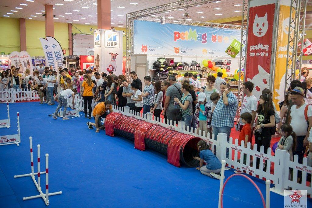 PetExpo este un eveniment potrivit pentru copii.