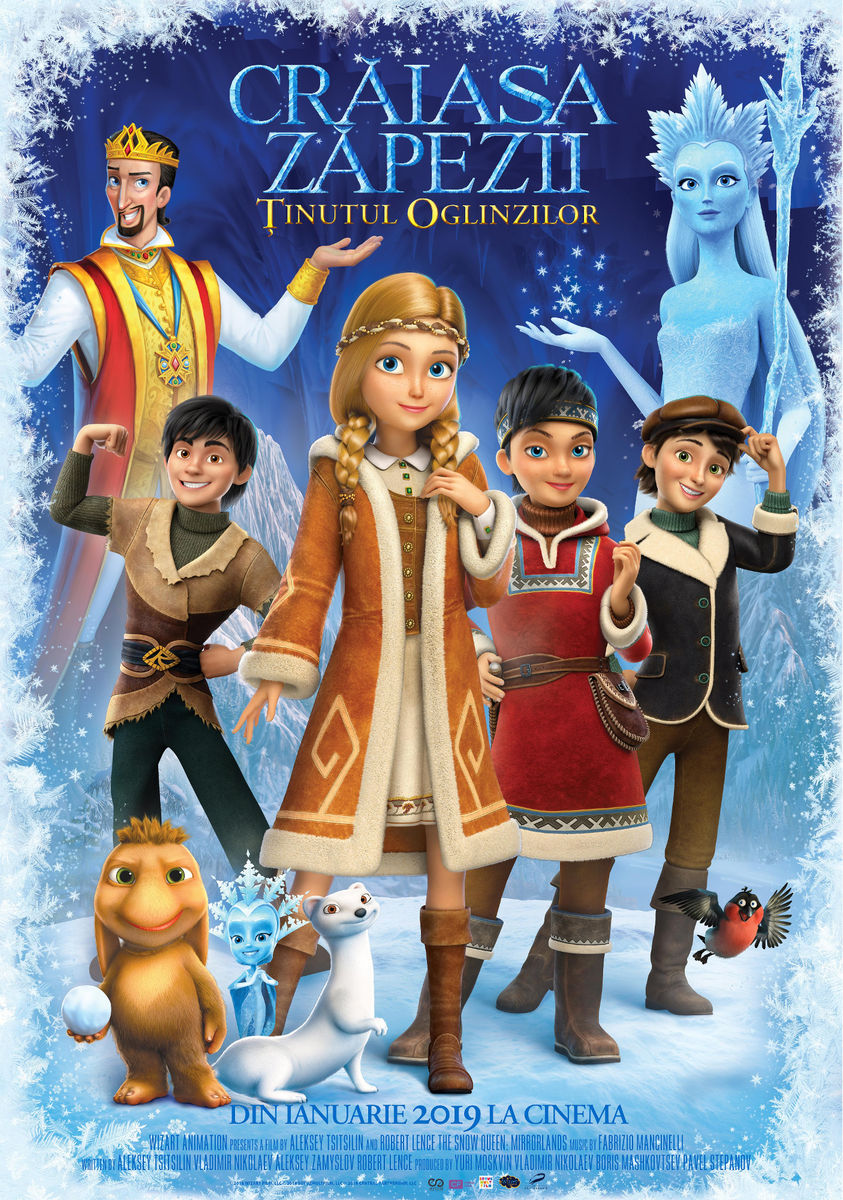 Poster Crăiasa Zăpezii: Ținutul Oglinzilor