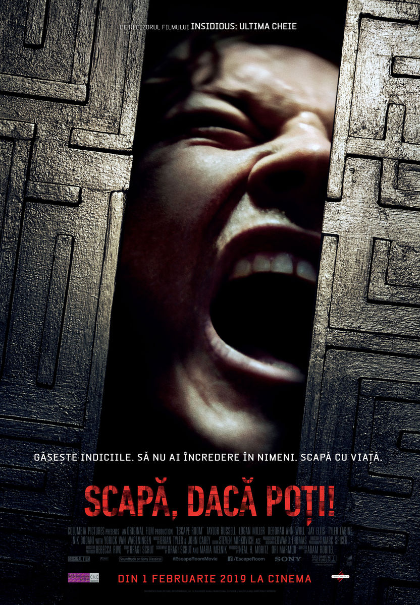 Poster Escape Room
